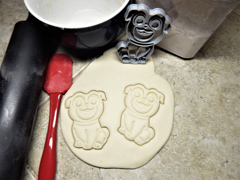 Puppy Dog Pal TV Show Disney Brothers Bingo Rolly Pals Character Cookie Cutter Baking Tool USA PR2262