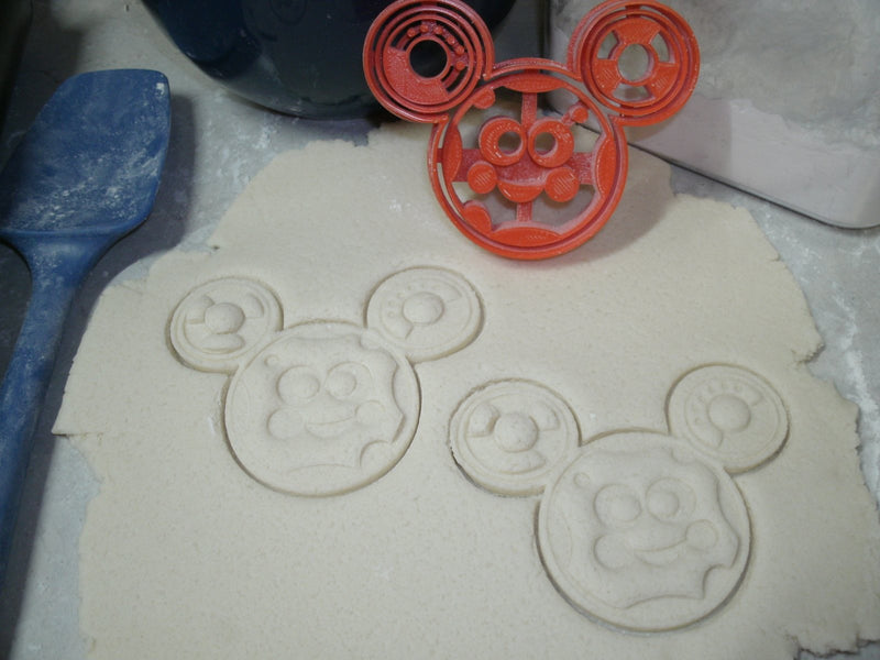 Toodles Mickey Mouse Clubhouse Disney Cookie Cutter Baking Tool Made In USA PR764
