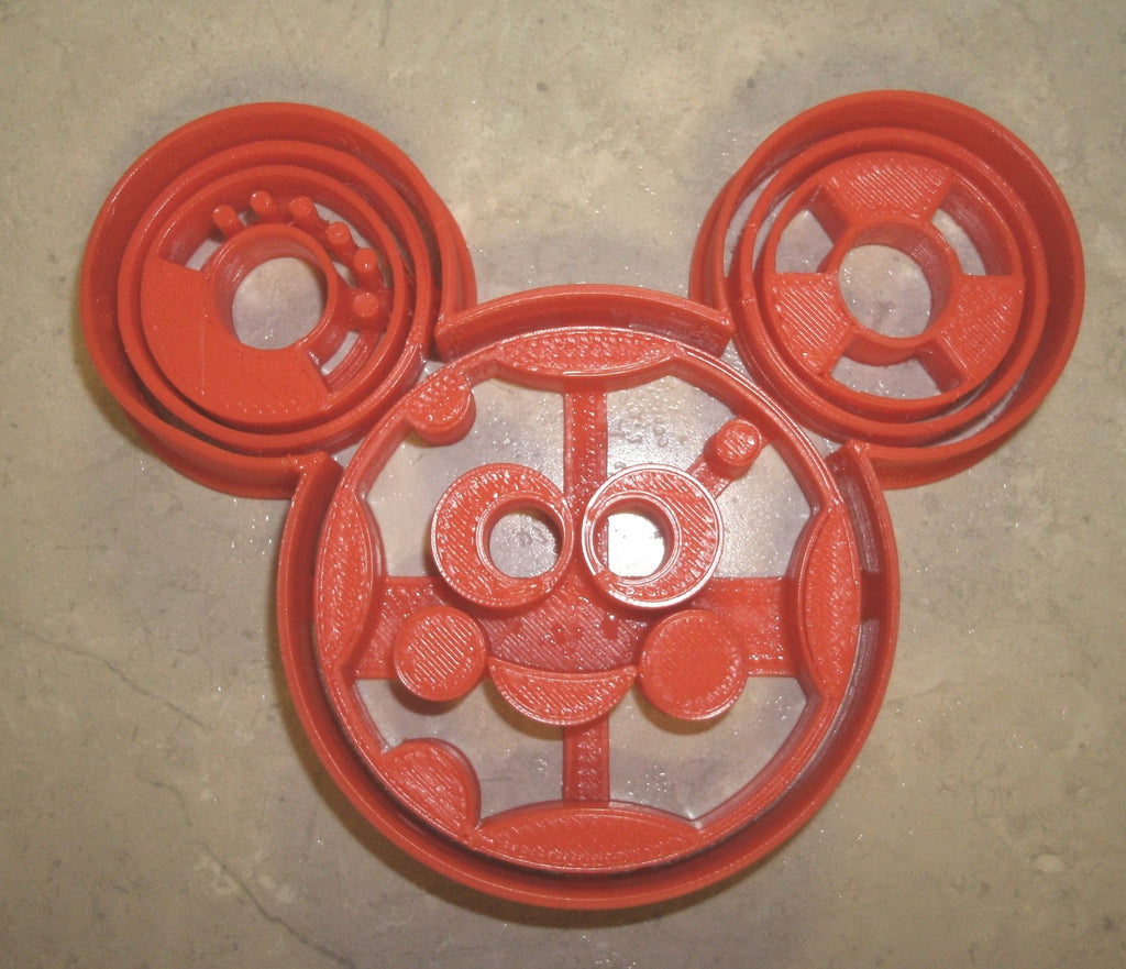 "Toodles Mickey Mouse Clubhouse Disney Special Occasion Fondant Stamp Cutter or Cupcake Topper Size 1.75"" Made in USA FD764"