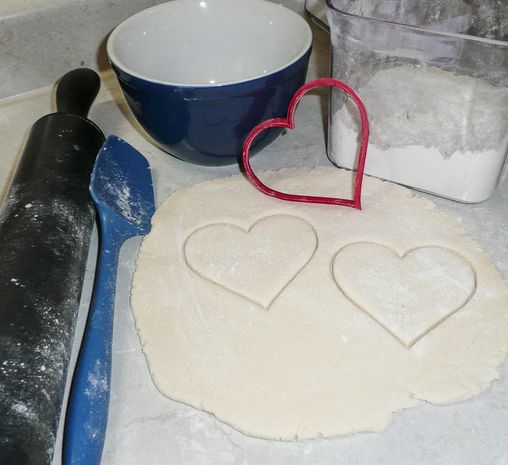 Heart Valentine Day Love Holiday Special Occasion Cookie Cutter Baking Tool Made in USA PR209