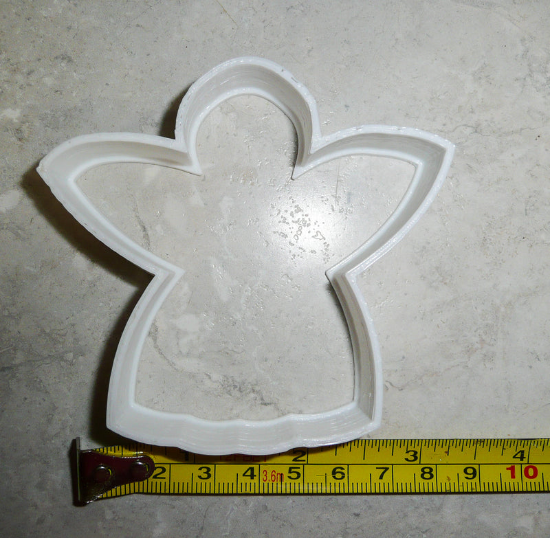 Angel Christmas Holiday Special Occasion Cookie Cutter Baking Tool Made In USA PR297