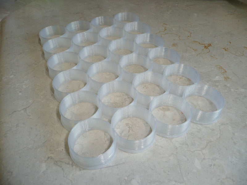 24 Circle Cutter Grid 1.25 Inch Each Communion Wafer Church Supply USA PR2895