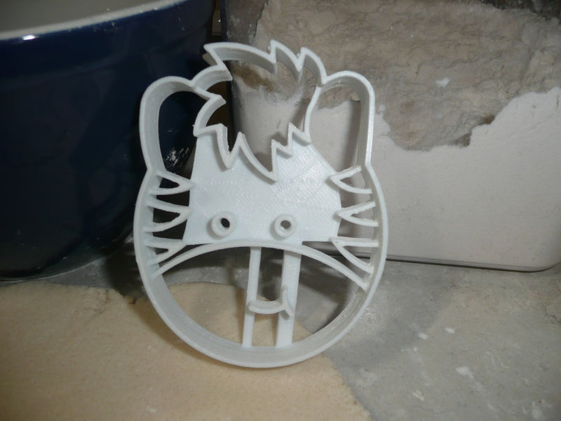 Zebra Detailed Face Head Zoo Animal African Safari Cookie Cutter USA PR2626