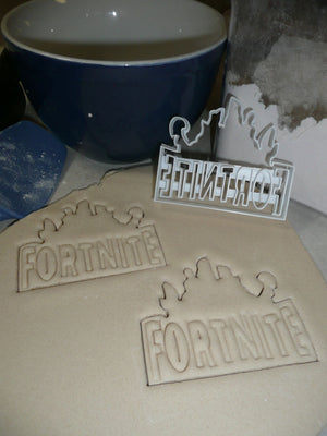 Fortnite Battle Royale Video Computer Game Cookie Cutter USA PR2674