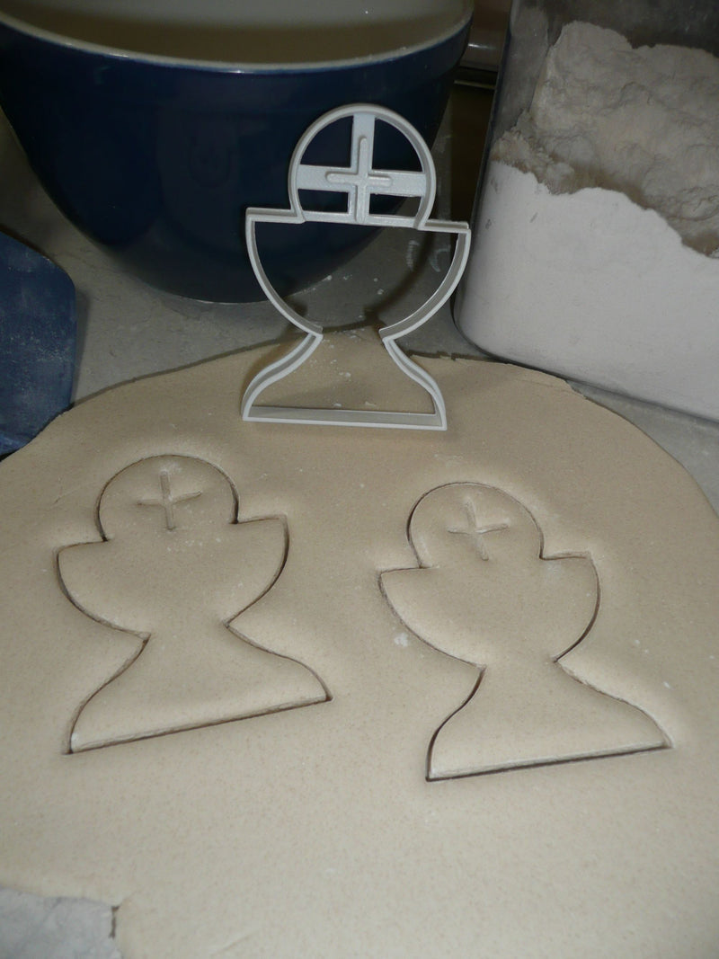 Chalice 1st Communion Catholic Christian Holy Eucharist Cookie Cutter USA PR2841