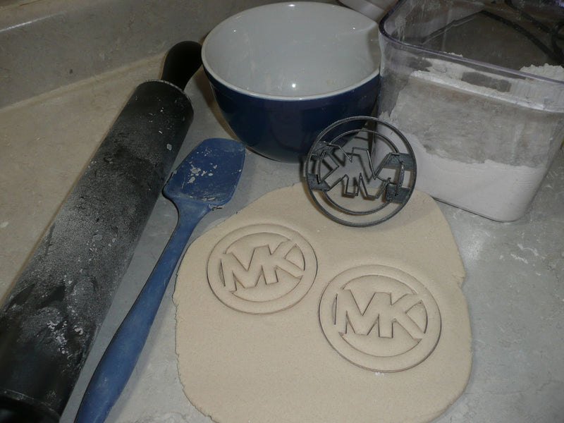 Michael Kors Logo Luxury Fashion Brand Special Occasion Cookie Cutter Baking Tool Cake Made in USA PR2884