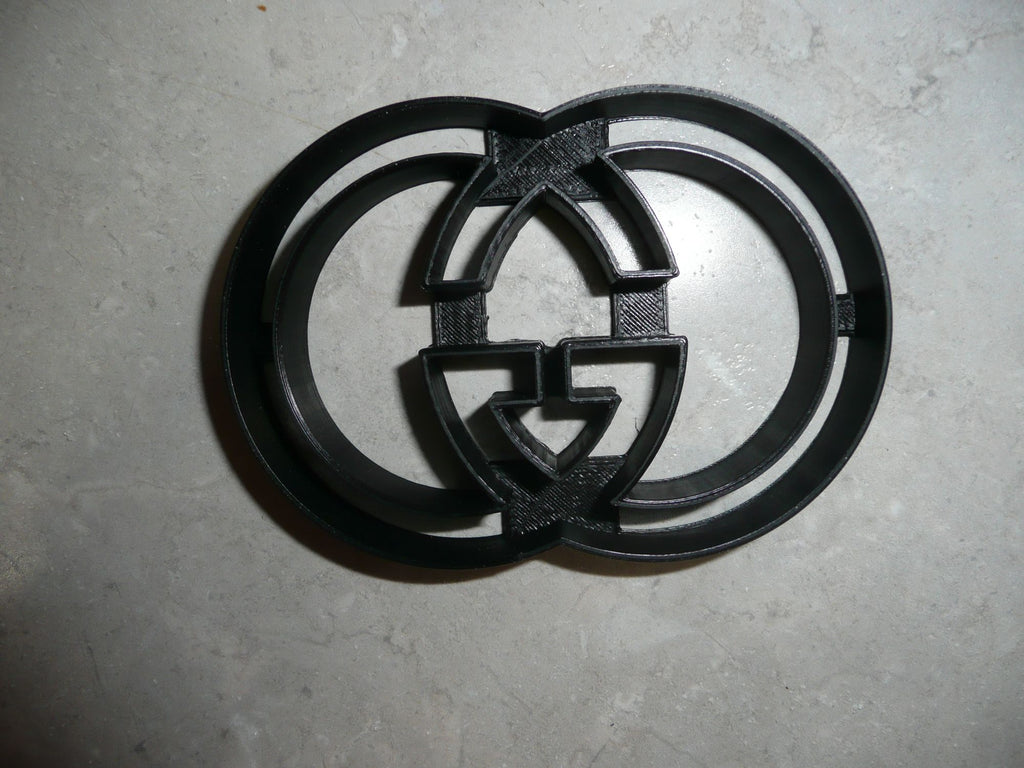 Gucci Luxury Fashion Brand Logo Cookie Cutter USA PR2885