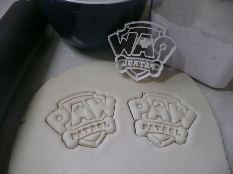 Paw Patrol Logo Kids TV Show Special Occasion Cookie Cutter Baking Tool Made in USA PR789