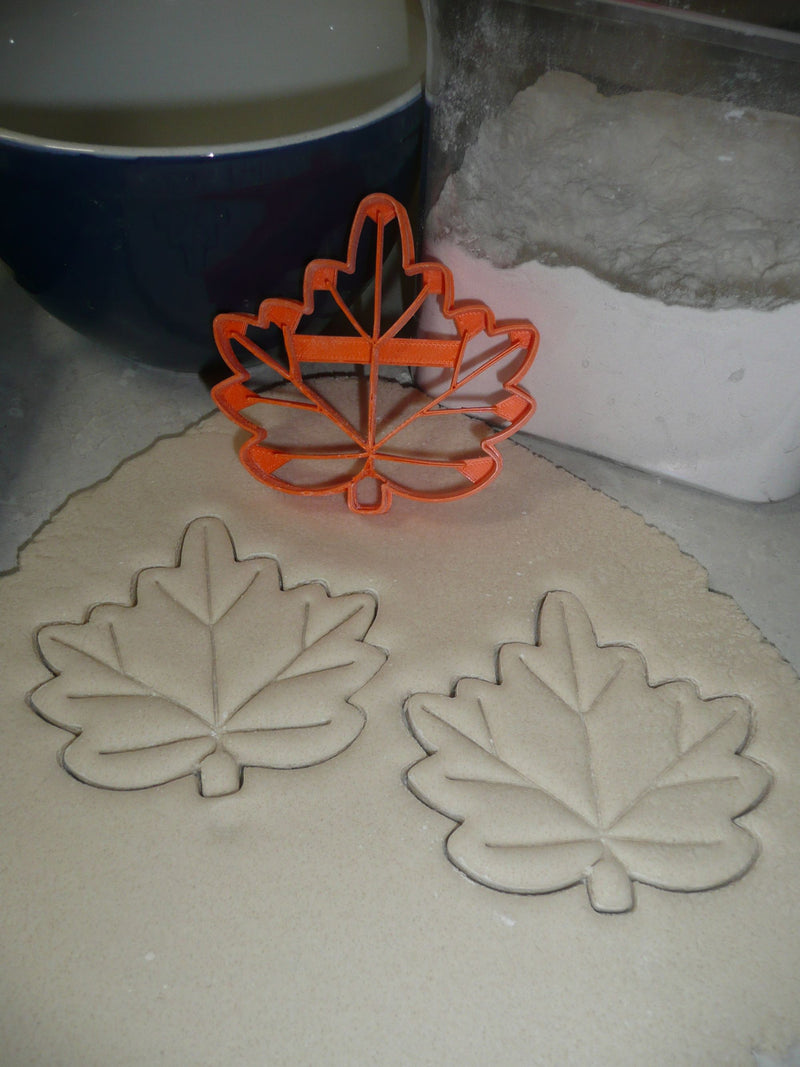 Leaves Tree Leaf Foliage Forest Trees Set Of 5 Cookie Cutters USA PR1526
