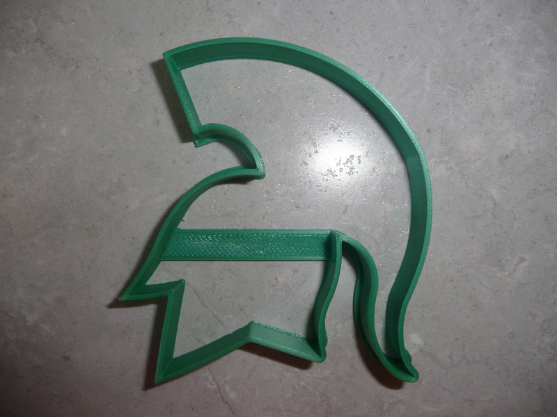 "Michigan State Spartans Sports Team Logo Special Occasion Fondant Stamp Cutter or Cupcake Topper Size 1.75"" Made in USA FD452"