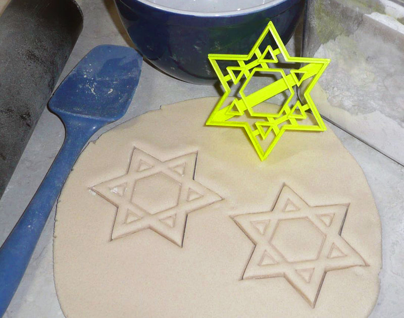Hanukkah Chanukah Jewish Festival Of Lights Set Of 5 Cookie Cutters USA PR1415