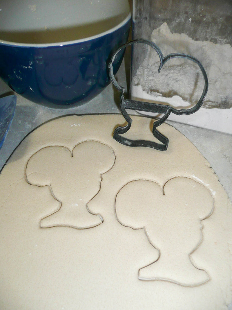 Girl With Afro Ponytails Natural Curls Curly Kinky Hair Cookie Cutter USA PR3023