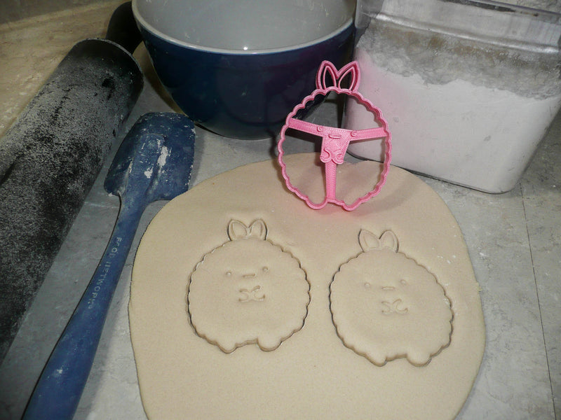 Round Chubby Puffy Animals Set of 6 Cookie Cutters USA PR1440