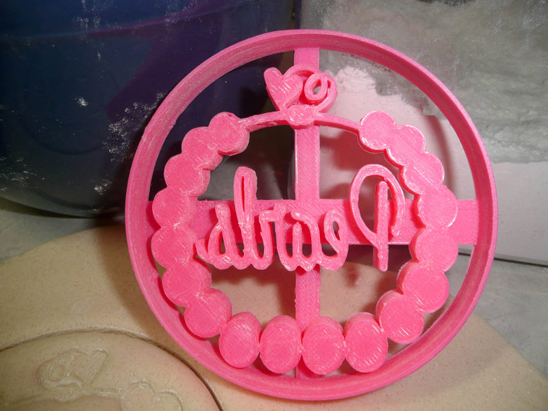 Putters or Pearls Gender Reveal Baby Shower Set of 3 Cookie Cutters USA PR1436