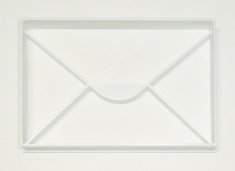 Envelope Letter Mail Greeting Card Post Cookie Cutter Baking Tool USA PR3396