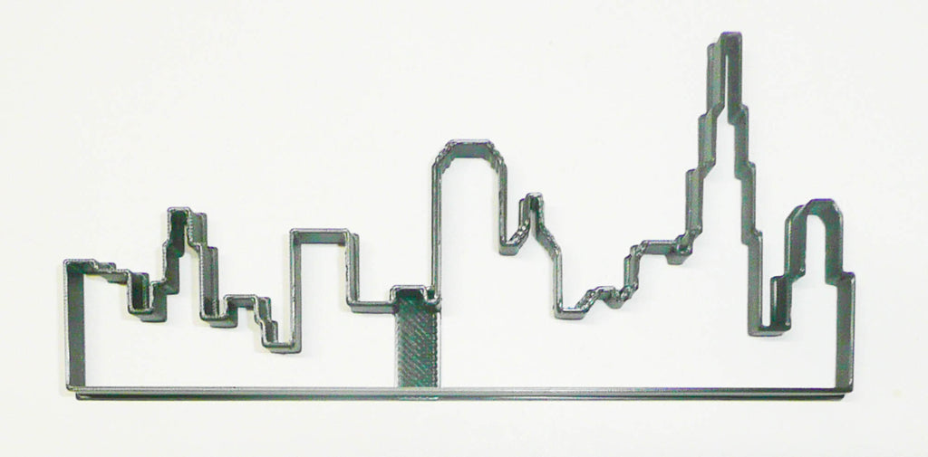 Chicago Skyline Silhouette Windy City Skyscrapers Cookie Cutter USA PR3370