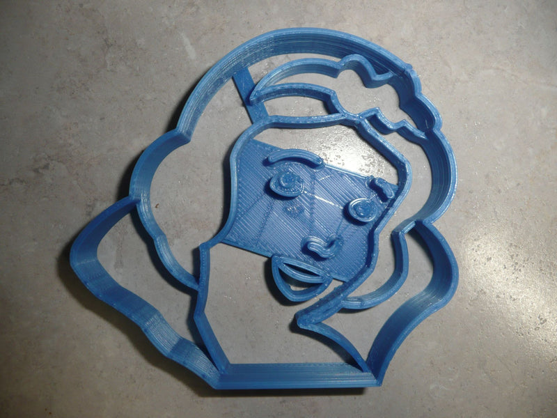 Snow White Face Detailed Animated Kids Movie Cookie Cutter USA PR2920