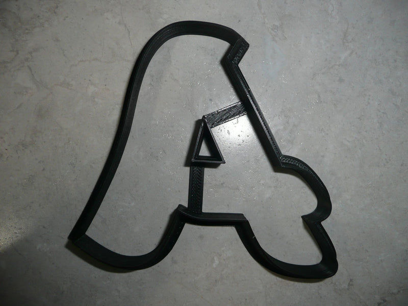 Letter A Uppercase Fancy Stylized Font Alphabet Cookie Cutter USA PR3328