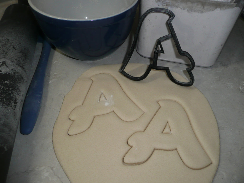 Fancy Font Alphabet Letters A to Z Set of 26 Cookie Cutters USA PR1518