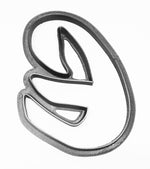 Letter E Uppercase Fancy Stylized Font Alphabet Cookie Cutter USA PR3332