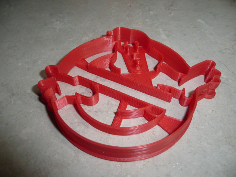 Ghostbusters Scientists Supernatural Movie Film Cookie Cutter USA PR2027
