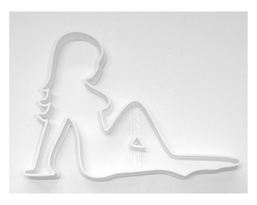 Mud Flap Mudflap Girl Woman Cookie Cutter Baking Tool USA PR183