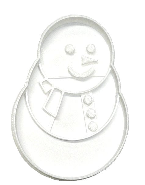 Snowman Detailed Winter Wonderland Cookie Cutter USA PR2181