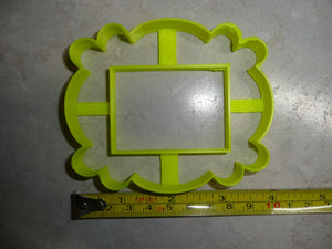 Friends Peephole Door Picture Frame Cookie Cutter Baking Tool USA PR3425