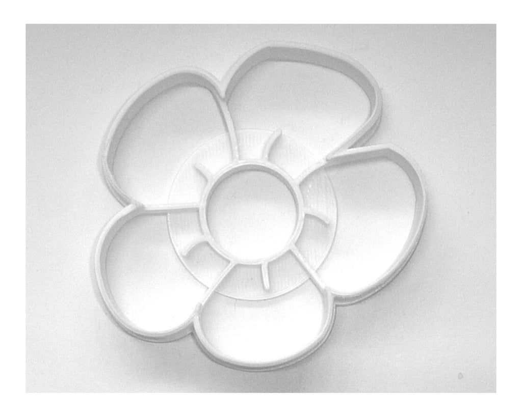 Flower 3 Five Petal Blooming Tree Plant Blossom Cookie Cutter USA PR3462