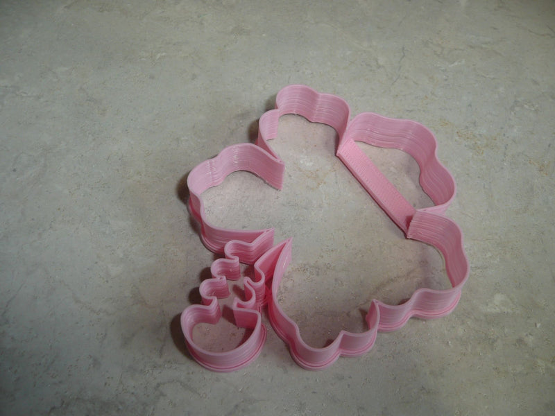 Hibiscus Outline Flower Flowering Plant Tropical Cookie Cutter USA PR3477