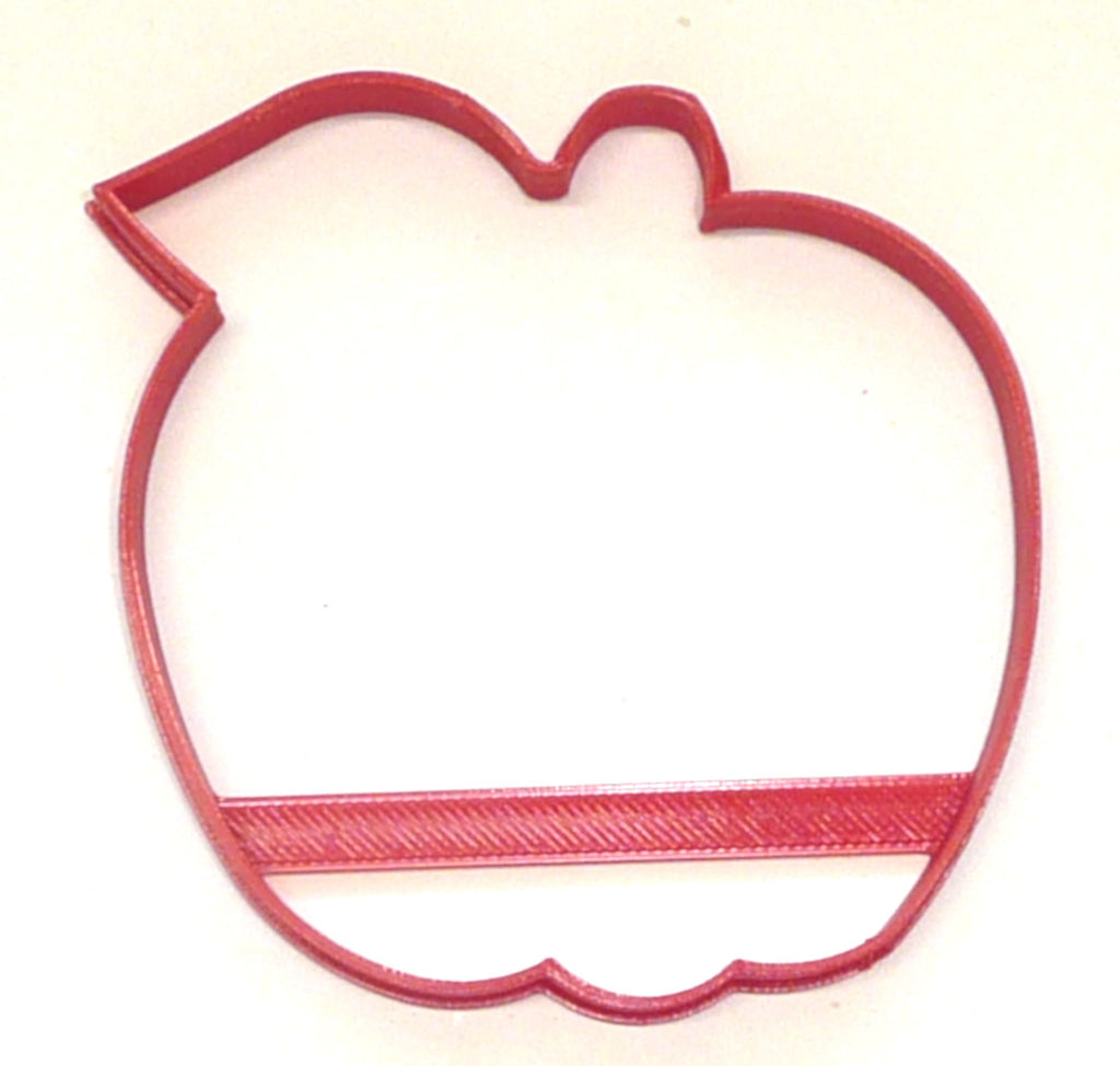 Apple With Leaf Outline Orchard Picking Tree Fruit Food Cookie Cutter USA PR3631