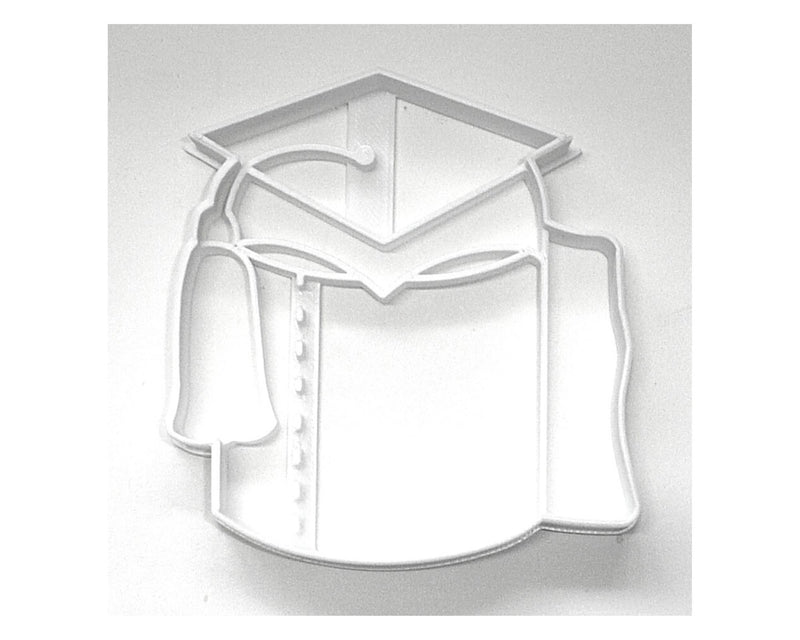 Graduation Cap Grad Hat On Toilet Paper TP Roll Cookie Cutter USA PR3642