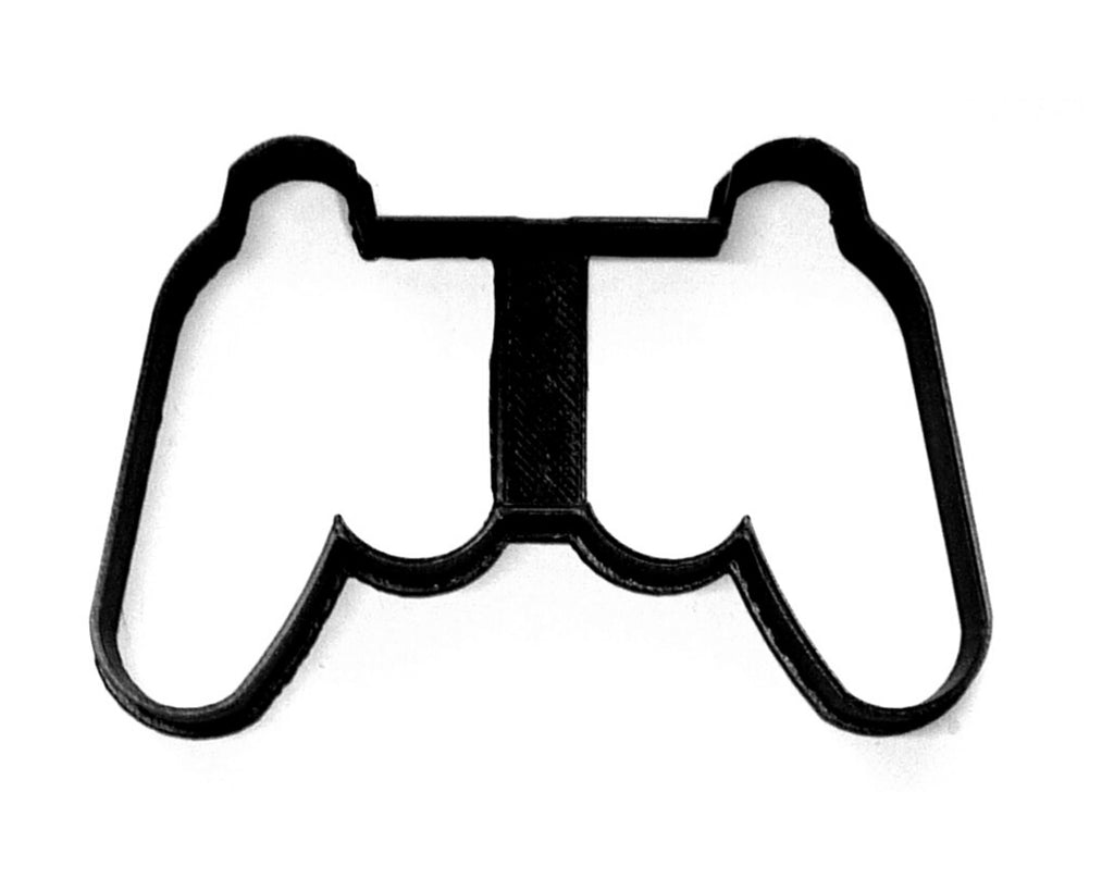 Gaming Controller Outline Wireless Gamepad Video Game Cookie Cutter USA PR3812