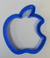 "Apple Logo Brand Shape Special Occasion Fondant Stamp Cutter or Cupcake Topper Size 1.75"" Made in USA FD425"