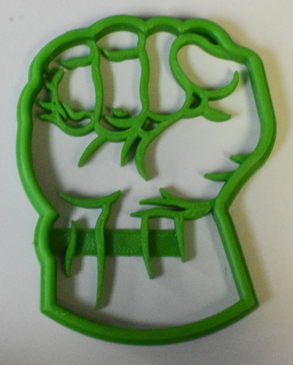 "Hulk Superhero Marvel Character Special Occasion Fondant Stamp Cutter or Cupcake Topper Size 1.75"" Made in USA FD463"
