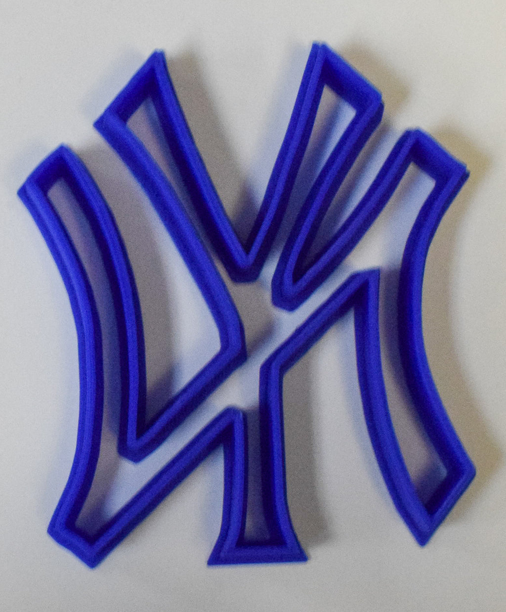 "New York Yankees Sports Baseball Special Occasion Fondant Stamp Cutter or Cupcake Topper Size 1.75"" Made in USA FD497"