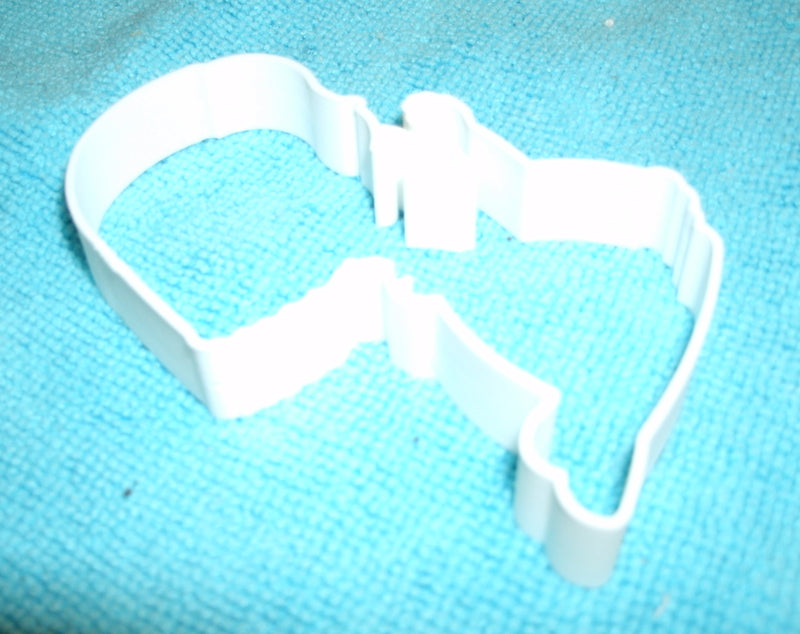 First Communion Girl Holy Eucharist Kneeling Praying Special Occasion Cookie Cutter Baking Tool Made in USA PR677