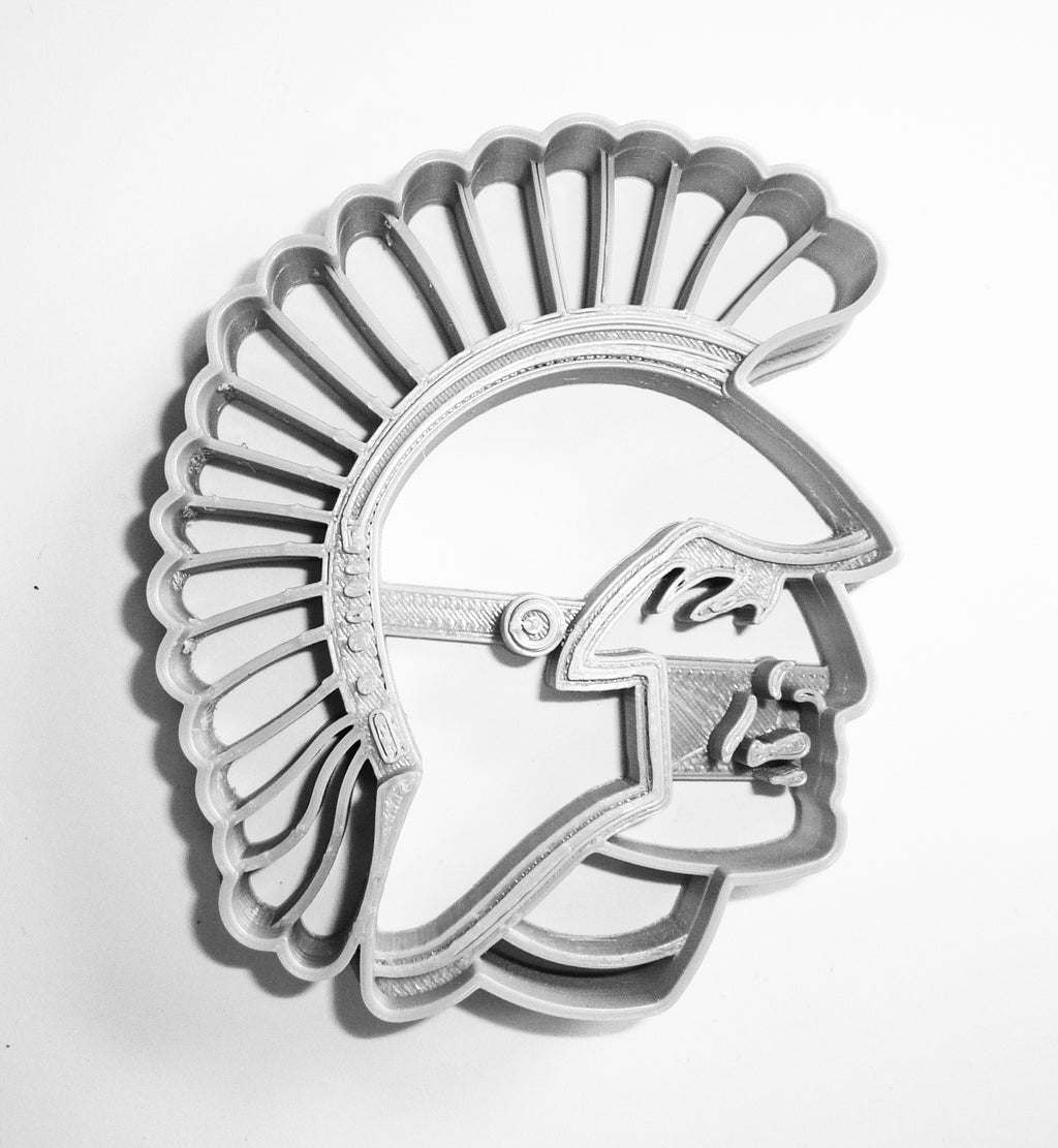 West Central High School Trojans Sports Academic Logo Special Occasion Cookie Cutter Baking Tool 3D Printed Made In USA PR935