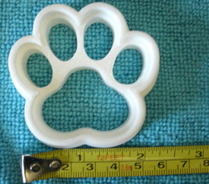 Paw Print Dog Cat Special Occasion Cookie Cutter Baking Tool Made in USA PR744