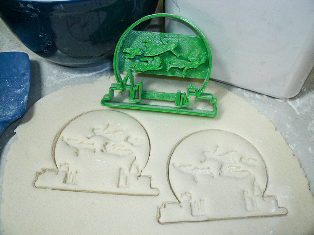 Peter Pan Flying Tinker Bell Fairy Wings Hook Set Of 4 Cookie Cutters USA PR1084