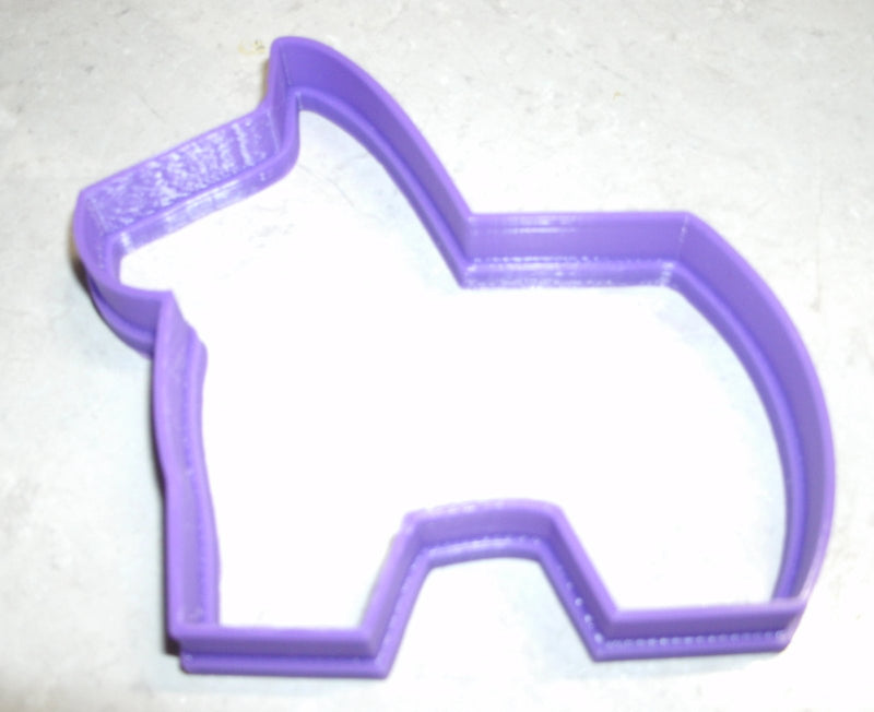 Piñata Horse Mexican Birthday Party Game Special Occasion Cookie Cutter Baking Tool Made in USA PR630