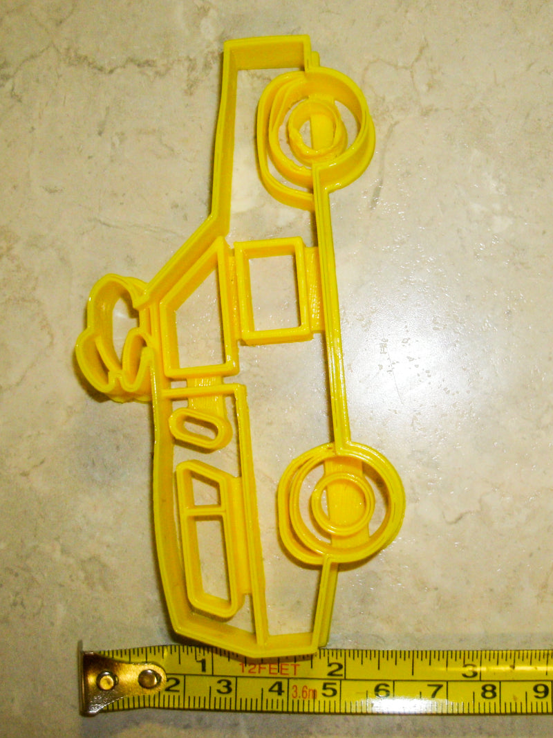 Pizza Planet Delivery Truck Toy Story Disney Pixar Movie Special Occasion Cookie Cutter Baking Tool Made In USA PR986