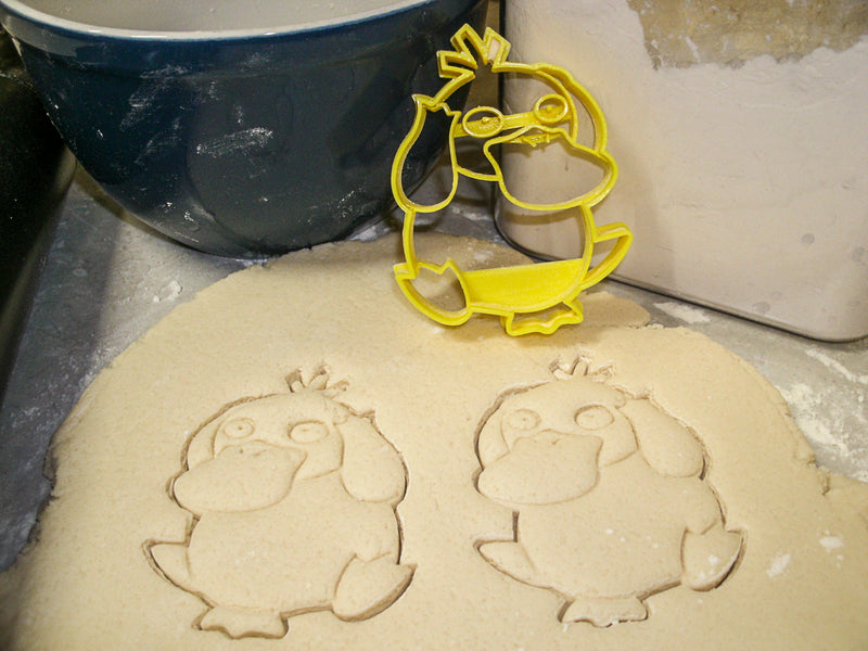 Psyduck Water Type Pokemon Yellow Duck Special Occasion Cookie Cutter Baking Tool Made in USA PR871