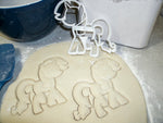 My Little Pony Friendship is Magic Ponies Set Of 6 Cookie Cutters USA PR1077