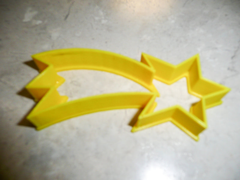 Shooting Falling Star Holiday Celebration Special Occasion Cookie Cutter Baking Tool Made In USA PR407
