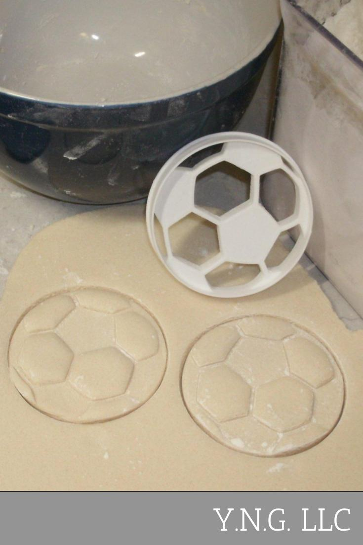 Soccer Ball Association Football Team Sport World Cup Special Occasion Cookie Cutter Baking Tool Made in USA PR698