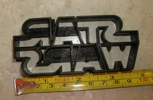 Star Wars Sci-Fi Movie Logo Special Occasion Cookie Cutter Baking Tool Made in USA PR806