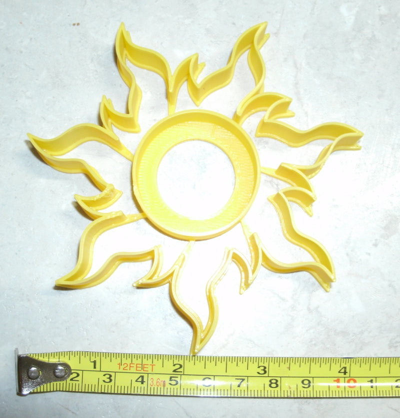 Tangled Sun Disney Rapunzel Symbol Hope Light Special Occasion Cookie Cutter Baking Tool Made in USA PR598