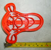Tigger from Winnie the Pooh Disney Character Special Occasion Cookie Cutter Baking Tool Made in USA PR457