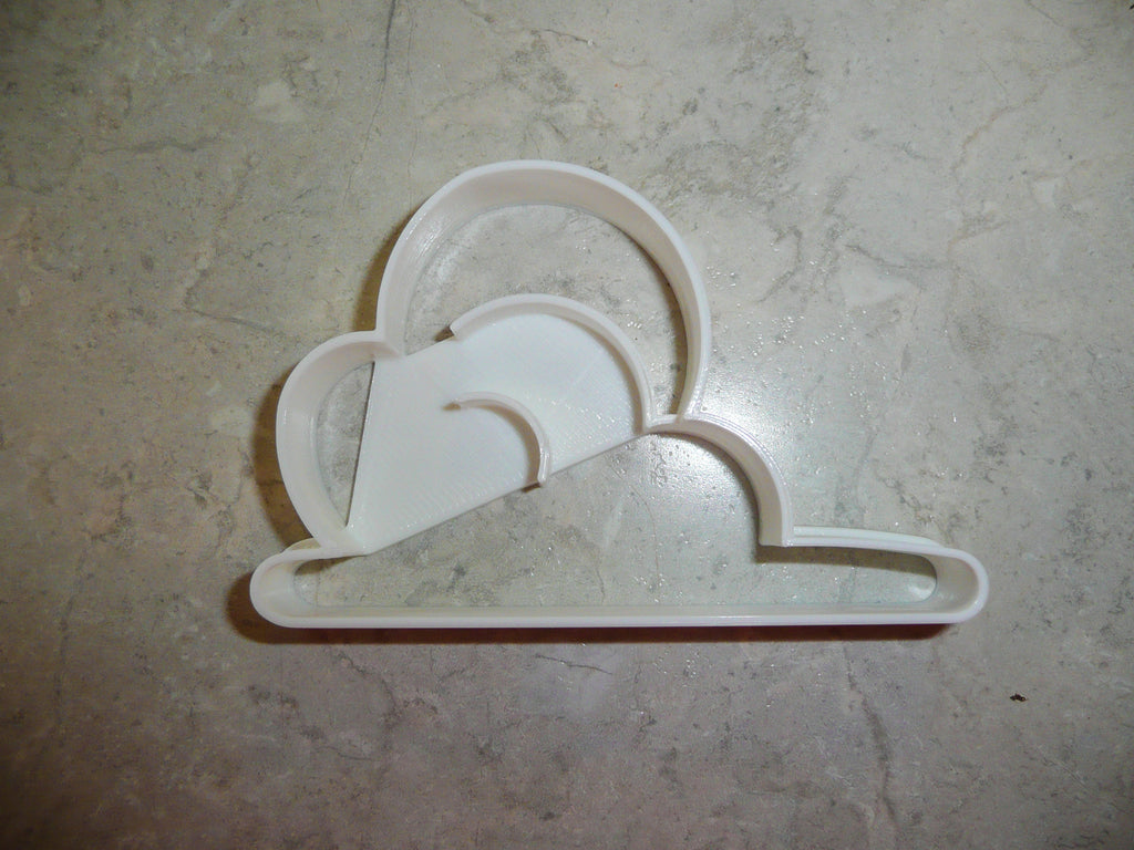 "Clouds From Toy Story Andy's Room Disney Pixar Movie Special Occasion Fondant Stamp Cutter Or Cupcake Topper Size 1.75"" Made in USA FD919"